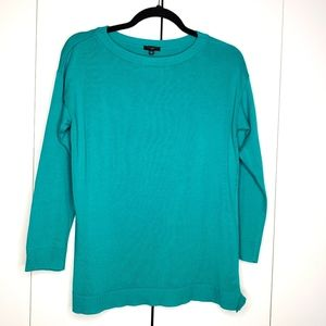 Talbots Turquoise Green Pullover Sweater